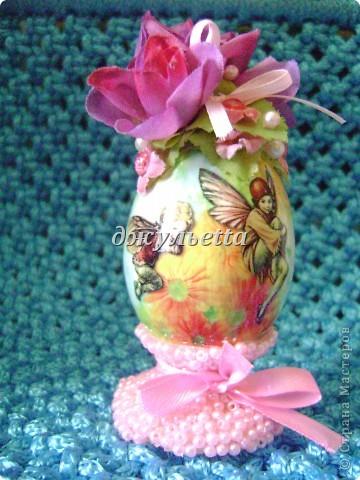 вот такие чудо яйца я сделала к пасхе  фото 2