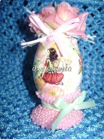 вот такие чудо яйца я сделала к пасхе  фото 3