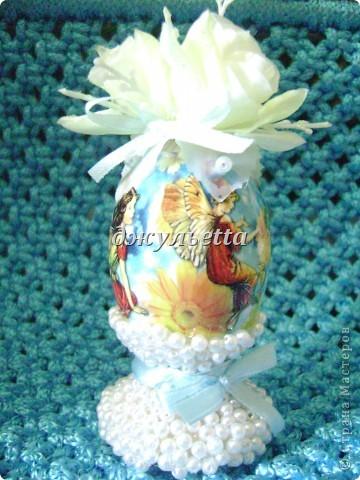 вот такие чудо яйца я сделала к пасхе  фото 5