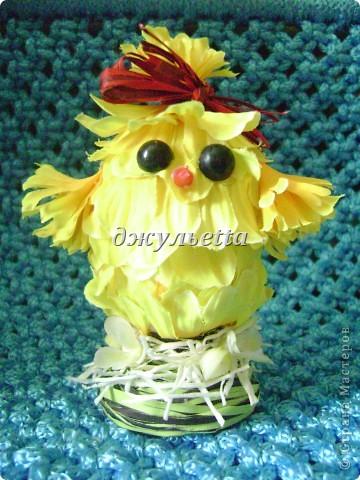 вот такие чудо яйца я сделала к пасхе  фото 7