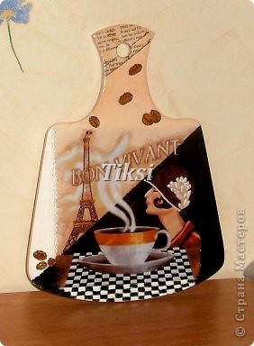 Париж,Париж.....Распечатка,скорлупа,подрисовка красками,лак. фото 3