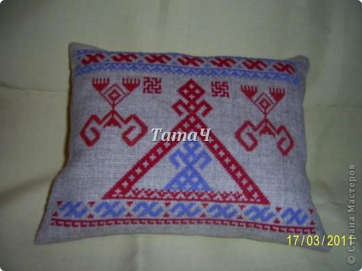 Обережная подушка