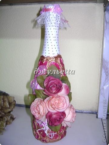 декор бутылок фото 11