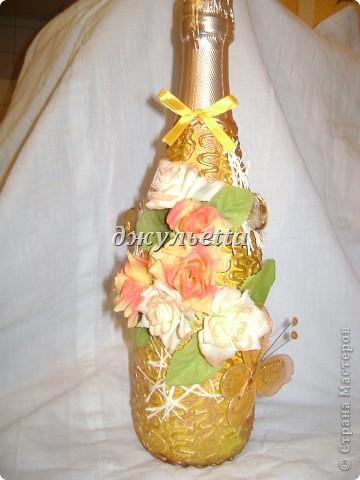 декор бутылок фото 12