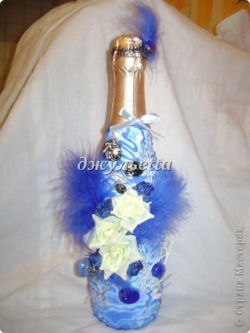 декор бутылок фото 13