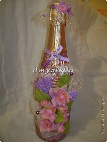 декор бутылок фото 15