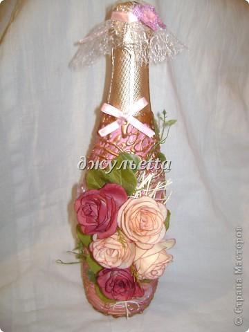 декор бутылок фото 16