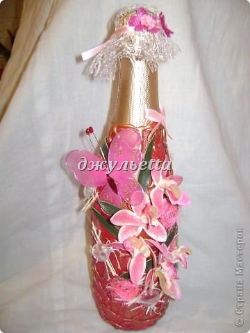 декор бутылок фото 20