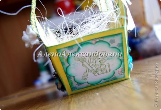 Пасхальная корзинка фото 4