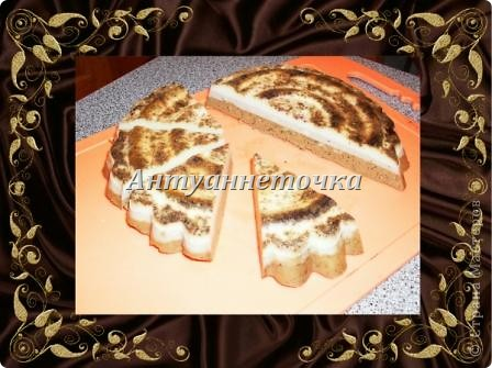 Тортик 3-х слойный, на фото к сожалению видно только 2 слоя. фото 4