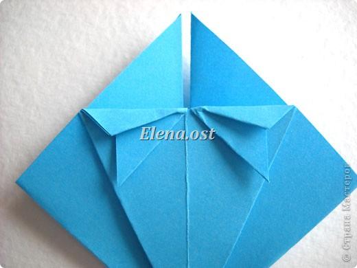 При копировании статьи, целиком или частично, пожалуйста, указывайте активную ссылку на источник! http://stranamasterov.ru/node/176315 http://stranamasterov.ru/user/9321  Открытка с элементами оригами (платье) и квиллинга. Размер открытки 14х13 см. Материалы: картон полосатый, бумага для акварели, бумага офисная, пайетки. фото 12