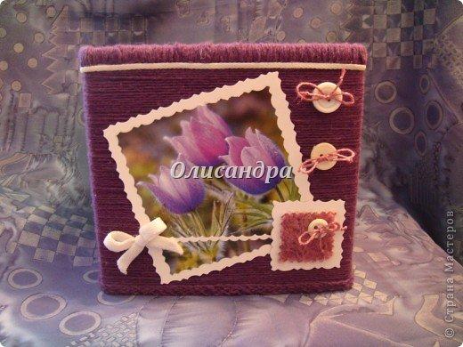 """""""Первая серия"""" здесь ...   http://stranamasterov.ru/node/176881   Но она неинтересная... Вторая намного симпатичнее... Это та же коробочка с другой стороны... Итак, декор... фото 20"""