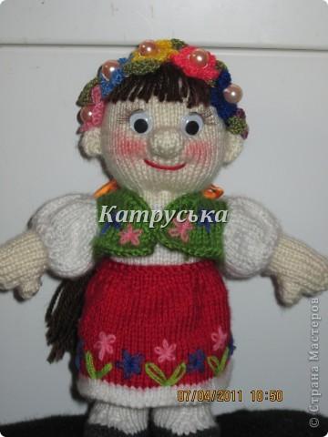Вот такая Украиночка теперь живет у меня дома благодаря Natali7775 из сатилины. фото 1