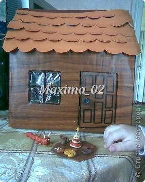 вот такой домик построили с помощником) фото 4