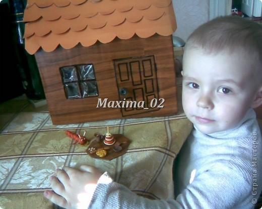 вот такой домик построили с помощником) фото 6