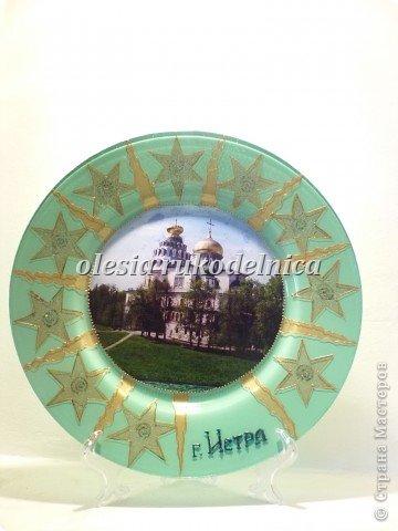 Обратный декупаж с фотографией. Использованы салфетки, акриловые краски, контуры по стеклу. фото 7