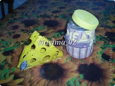 салфетница и бочка с медом(бочка еще не покрыта лаком,досыхает) фото 2