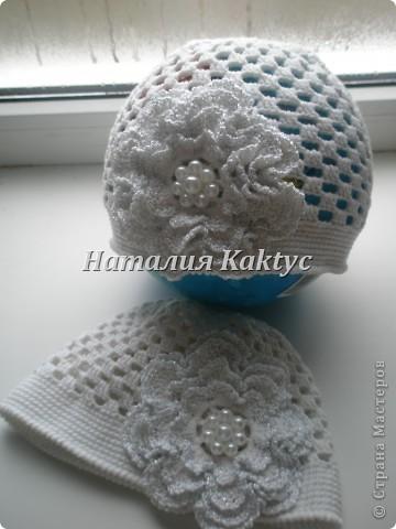 Весенние шапочки.Подготовка к теплой весне идет полным ходом)))) фото 4