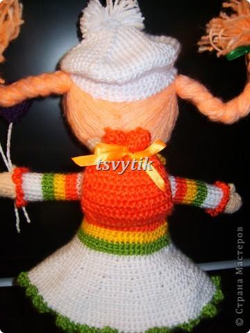 Кукла КИРА с шарами и рюкзачком! фото 2