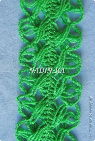 МК вязание на вилке 2