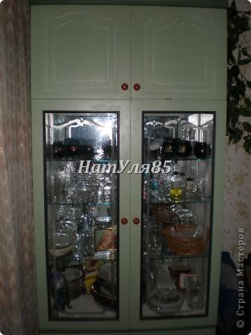Таким был шкаф...Мы его хорошенько помыли,обезжирили... фото 4