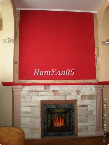 кухня,обои под покраску,по швам потолочный  багет,перекрашено водоэмульсионной краской с добавлением пегмента фото 4