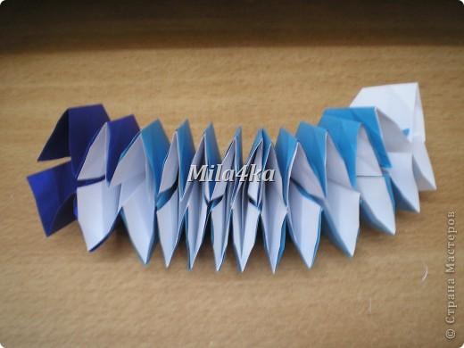 Что-то я вдруг игрушками-трансформерами увлеклась.. Вот еще одну сделала. Из одной лишь бумаги и даже без клея..  фото 21