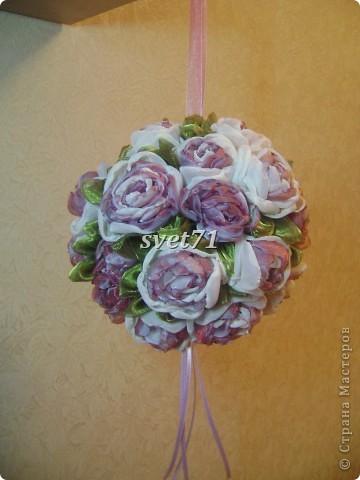 Шар из роз. фото 1