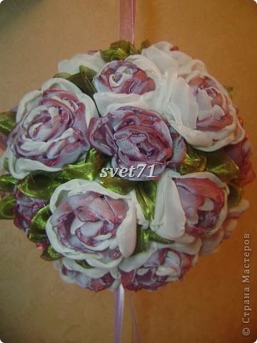 Шар из роз. фото 2