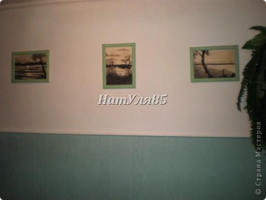кухня,обои под покраску,по швам потолочный  багет,перекрашено водоэмульсионной краской с добавлением пегмента фото 12