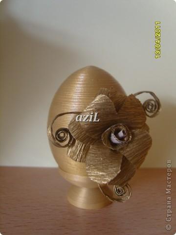 Добрый день всем Мастерицам! Скоро пасха и думаю многие уже начали готовиться. Делюсь с вами идеей, по украшению яиц. Может кому понравится. Пользуйтесь на здоровье. Всем творческих успехов и идей. фото 3