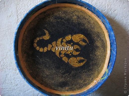 """Коробочка""""Скорпиону"""" фото 2"""