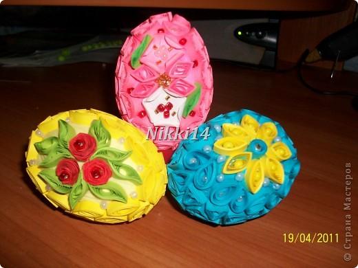 Яйца на Пасху. фото 1