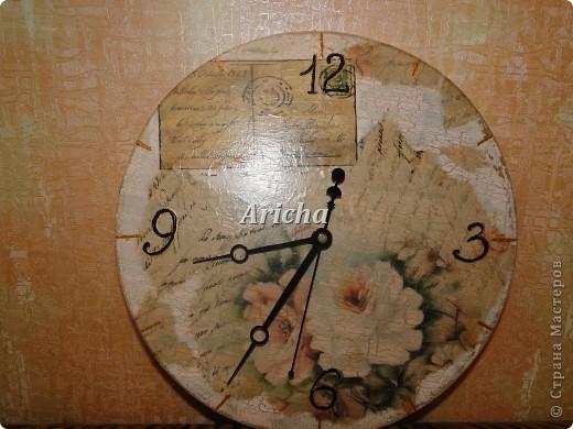 Деревянная заготовка, рисовая бумага и салфетка, одношаговый кракелюр. фото 1