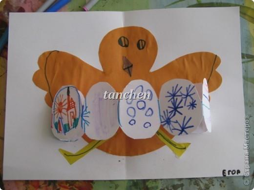 Егор, 4,5 года. Идею взяла с сайта http://krokotak.com/velikden/ фото 1