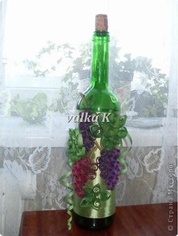 Бутылочка с виноградиком