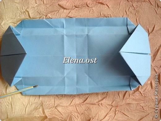 Сумочка-оригами для сладостей. Приятно дарить подарок в маленькой сумочке-бонбоньерке. Я сделала сумочку с сердцем из офисной бумаги. Формат А4. Размер сумочки 5.5Х8 см. При копировании статьи, целиком или частично, пожалуйста, указывайте активную ссылку на источник! http://stranamasterov.ru/user/9321 http://stranamasterov.ru/node/144940 фото 20