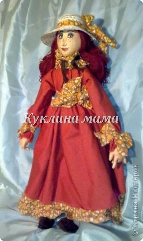 готично - эмичная куклень в розово-черных тонах фото 2