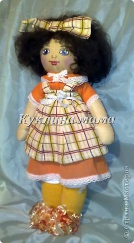 готично - эмичная куклень в розово-черных тонах фото 3