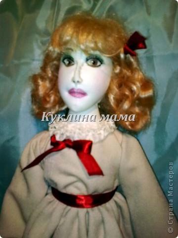 готично - эмичная куклень в розово-черных тонах фото 4
