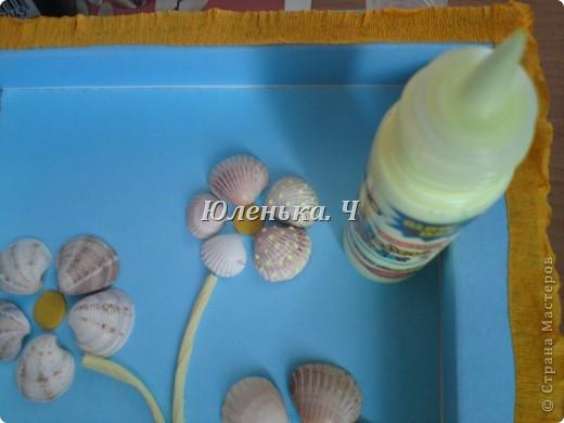 На готовую рамочку крепим пластилин фото 11