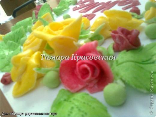 Сладкие украшения из сахарной мастики. Мастику делала и с маршмелоу. фото 3