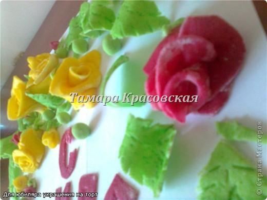 Сладкие украшения из сахарной мастики. Мастику делала и с маршмелоу. фото 2