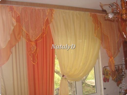 шторы для мамы в кухню фото 1