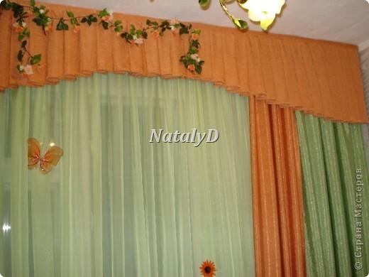 шторы для мамы в кухню фото 3