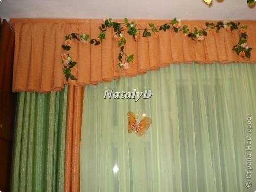 шторы для мамы в кухню фото 4