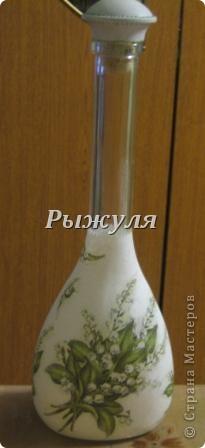 Бутылочка для домашней наливочки из вишни фото 7