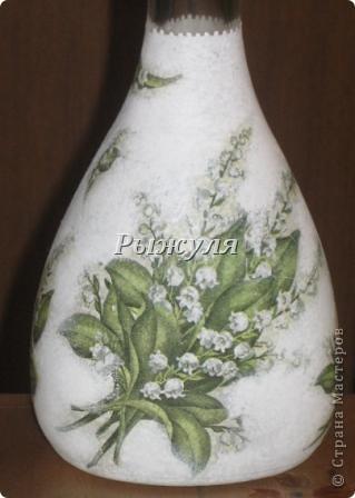 Бутылочка для домашней наливочки из вишни фото 5