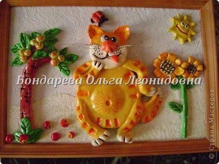 Не удержалась и я, и вот сотворила рыжих котов в подарок на Новый год своим племянникам.  Вот в таком домике живёт рыжий котик. Надеюсь ему комфортно. фото 3