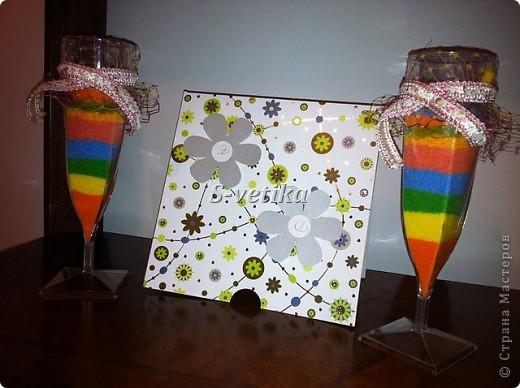 Красивые стаканчики. Моя первая работа. Оцените.